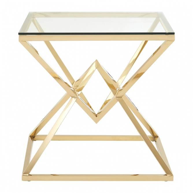 Bilde av ALLURE END TABLE GOLD