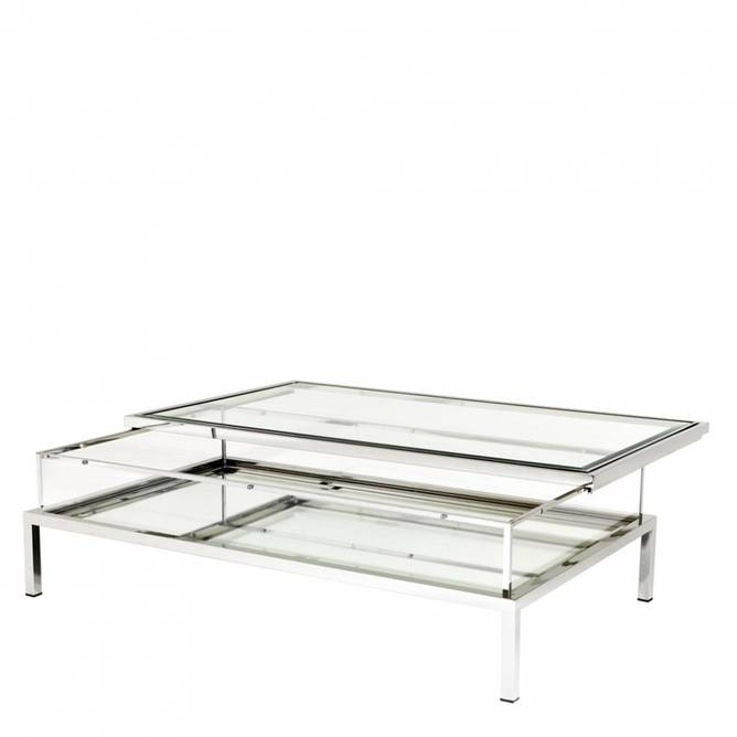 Bilde av EICHHOLTZ COFFEE TABLE HARVEY STEEL 140*85