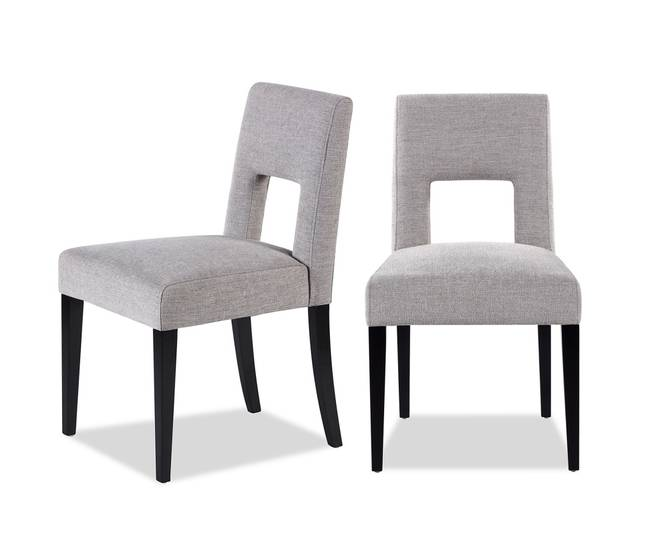 Bilde av VENICE DINING CHAIR ASH GREY CHENILLE