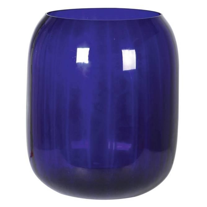 Bilde av LARGE BLUE GLASS VASE 50