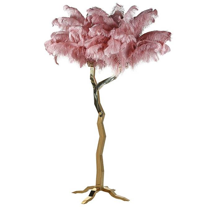Bilde av FEATHER TREE PINK 250CM