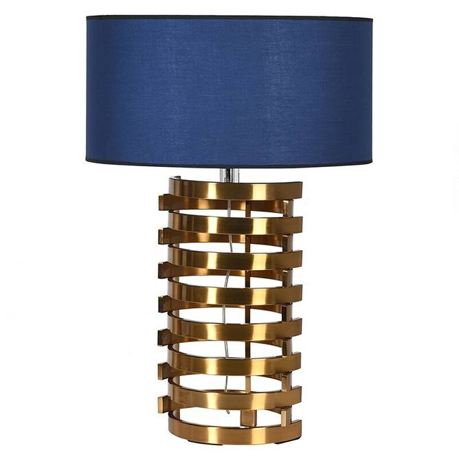 Bilde av TALL BRASS TABLE LAMP