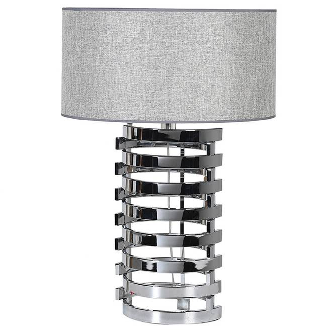Bilde av TALL NICKEL TABLE LAMP