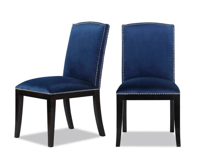 Bilde av MAPLE DINING CHAIR BLUE