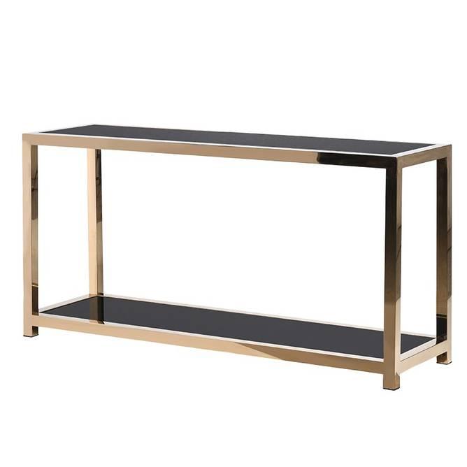 Bilde av GOLD METAL CONSOLE TABLE