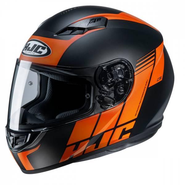HJC CS15 - Mylo MC7F - Sort/Oransj