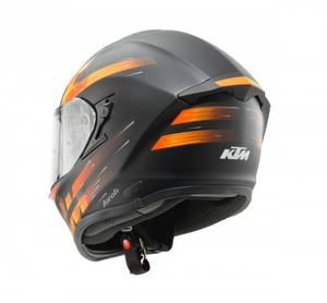 Bilde av KTM (Airoh) ST501 - Sort/Oransj