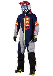 Bilde av FXR Mens Recruit Lite Monosuit - Navy/Lt