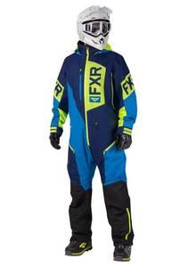Bilde av FXR Mens Recruit Lite Monosuit - Navy/Blue/Hi Vis