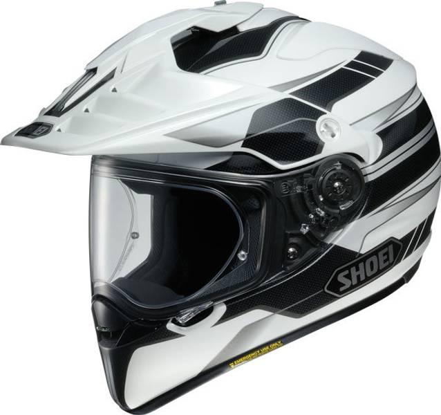 Shoei Hornet Adventure - Navigate TC6 - Hvit/Sort