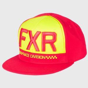 Bilde av FXR Helium Hat OS Red/Hi Vis