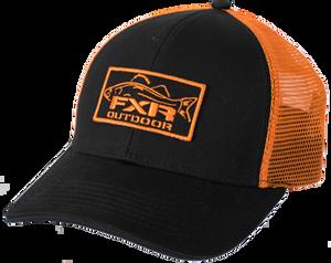 Bilde av FXR M Angler Hat Black/Orange OS