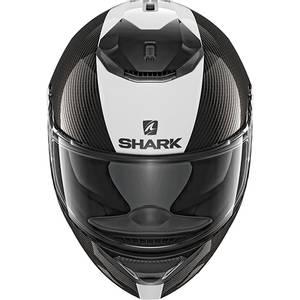 Bilde av Shark Spartan Carbon - Hvit Skin