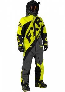 Bilde av FXR Mens CX Lite Monosuit - Hi Vis/Black/Charcoal