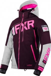 Bilde av FXR Womens Ranger Jakke - Plum/Grey/Elec Pink