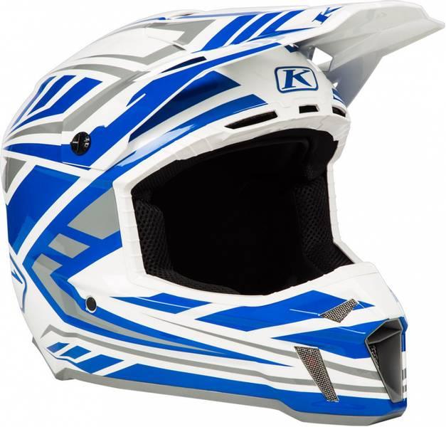 Klim F3 Hjelm - Velocity White