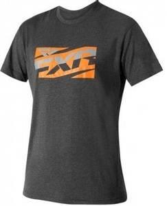 Bilde av FXR Mens Throttle Tech T-Shirt Charcoal/Orange