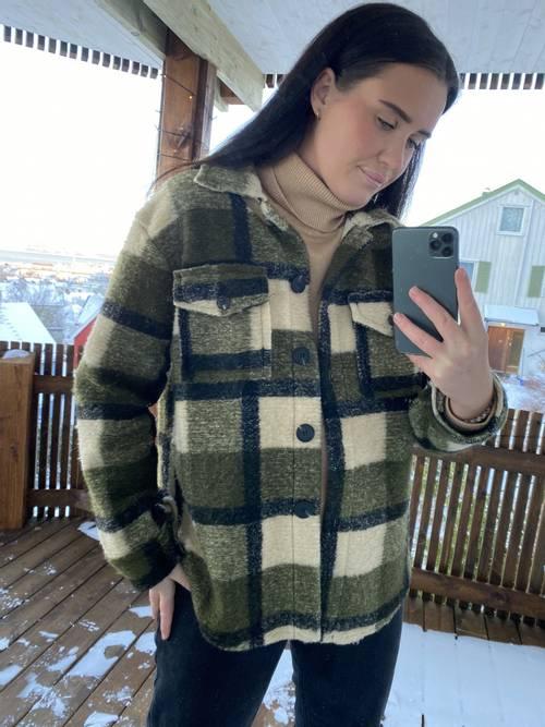 Bilde av MASSIMO - Skjortejakke grønn 8900