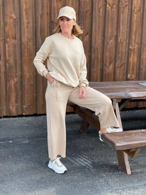 Bilde av Banu comfy pants beige