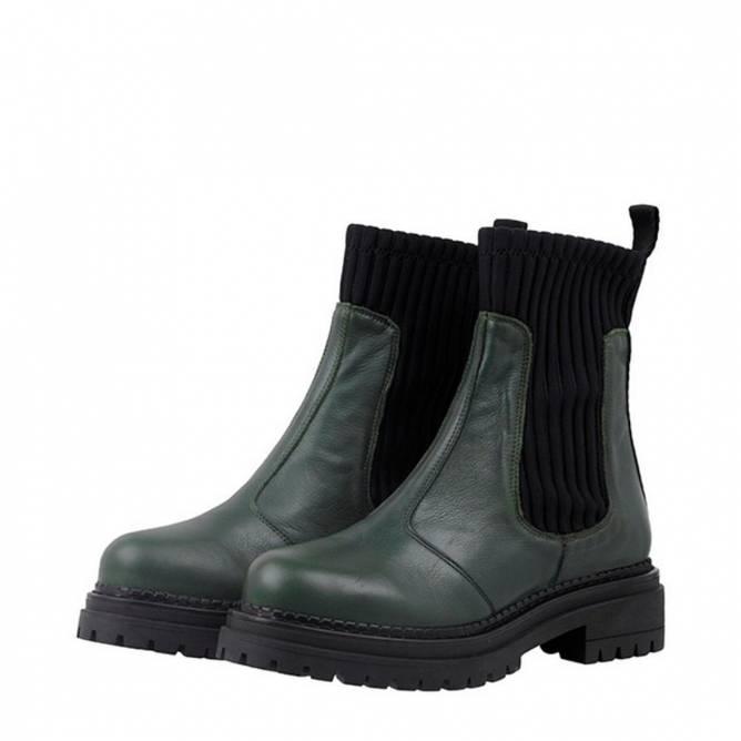 Bilde av CASHOTT - Boots Delfi Dark Green