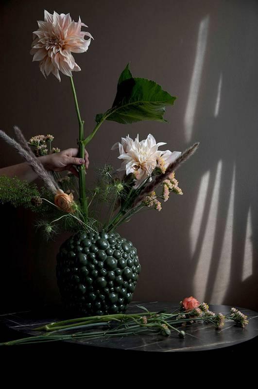 Bilde av BY ON - Vase celeste grønn