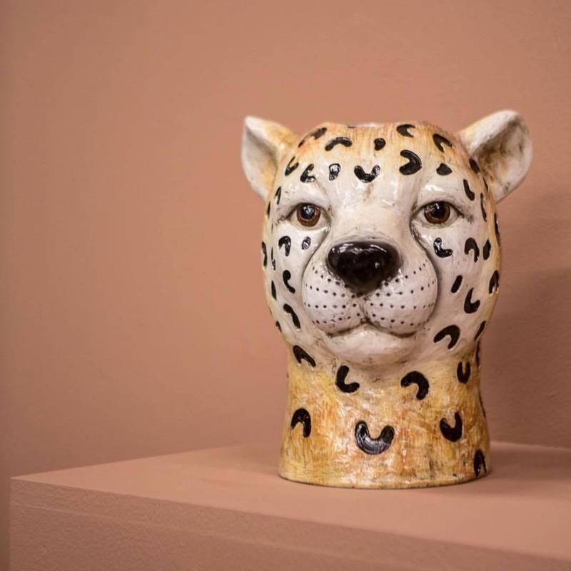 Bilde av BY ON - Vase cheetah small
