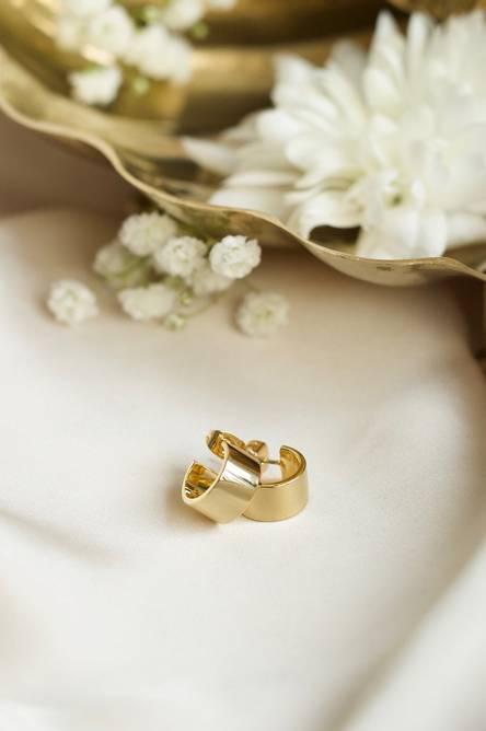 Bilde av Adelina ørepynt gull