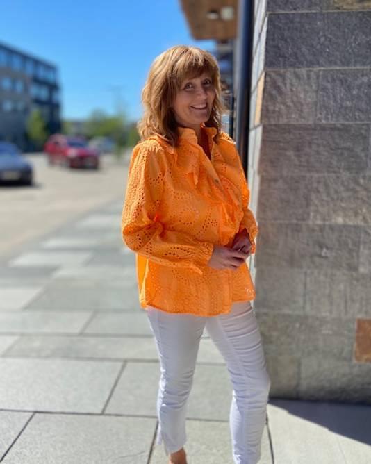 Bilde av Diana bluse oransje