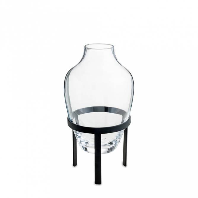 Bilde av NORDSTJERNE - Adorne vase black/diamond small