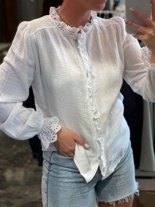 Bilde av Blake bluse hvit