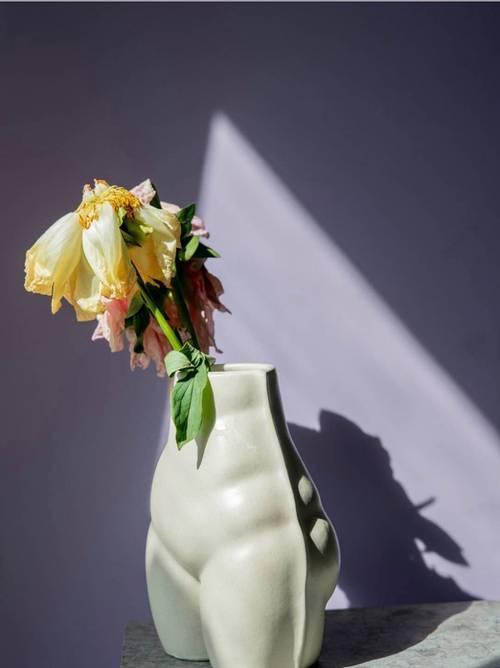 Bilde av BY ON - Vase Nature 19 cm