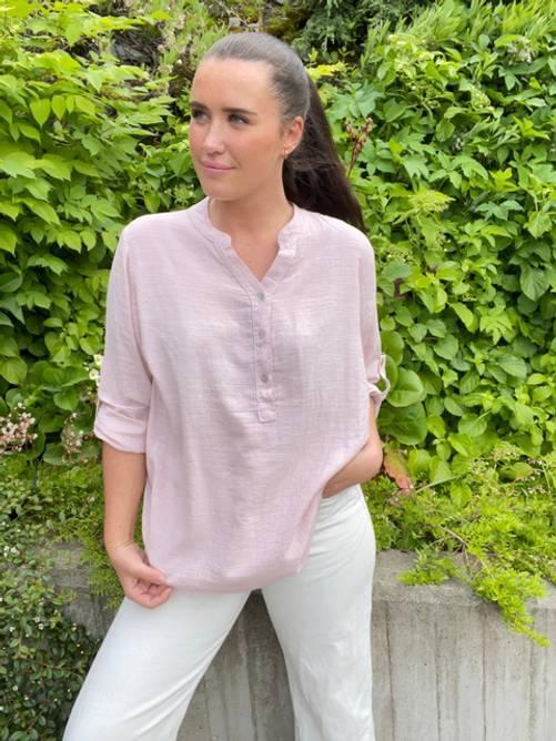 Bilde av MASSIMO - Bluse 100% bomull rosa 7019-1