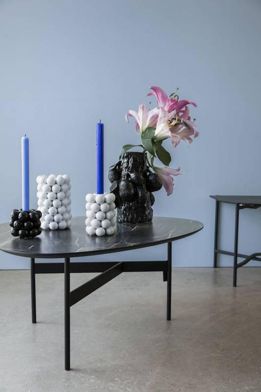Bilde av BY ON - Globe vase hvit