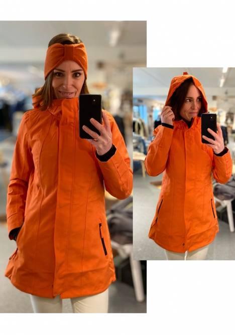Bilde av ALEKSANDER - Zoe Oxford allværsjakke oransje
