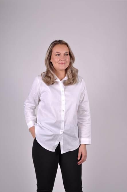 Bilde av MASSIMO - Hvit skjorte 7216-1