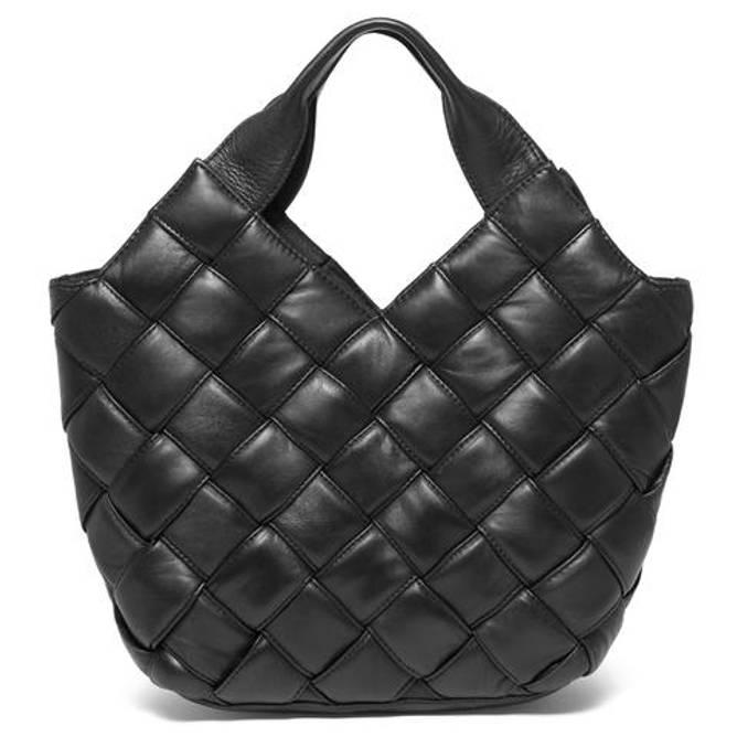 Bilde av Fashion leather bag large black