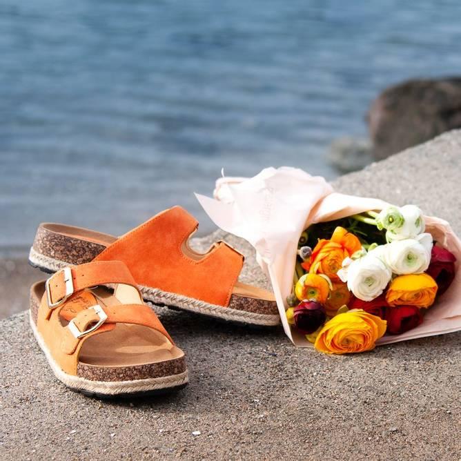 Bilde av Hilde sandaler - Oransje
