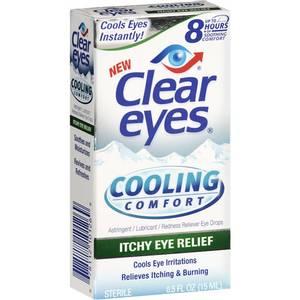 Bilde av Clear Eyes Itchy Eye Relief Cooling Comfort
