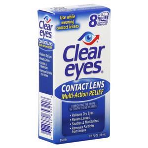Bilde av Clear Eyes Contact Lens Multi-Action Relief