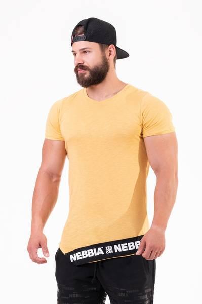 Bilde av NEBBIA Be Rebel! T-skjorte 140 - Gul