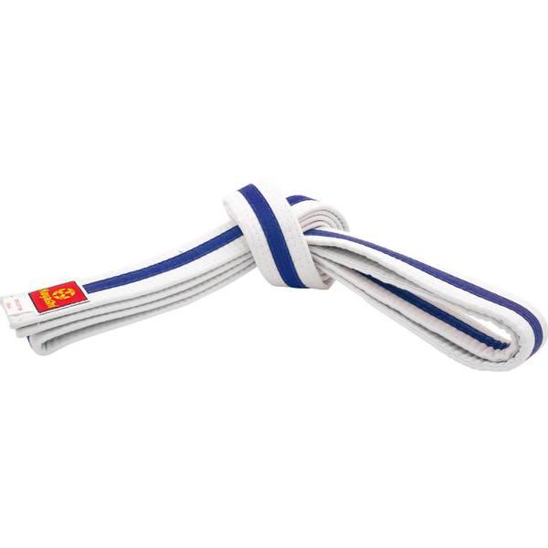 Bilde av HAYASHI Hvitt Belte med blå stripe