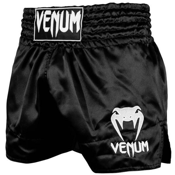 Bilde av VENUM Classic Muay Thai shorts - Svart/Hvit