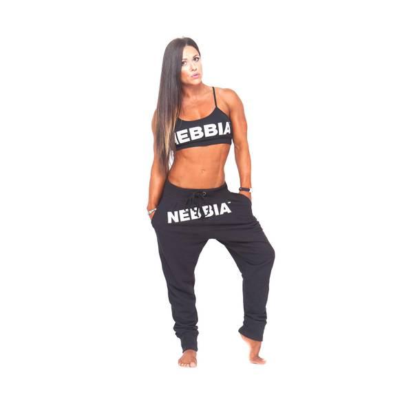 Bilde av NEBBIA Drop Crotch Bukse Svart 274