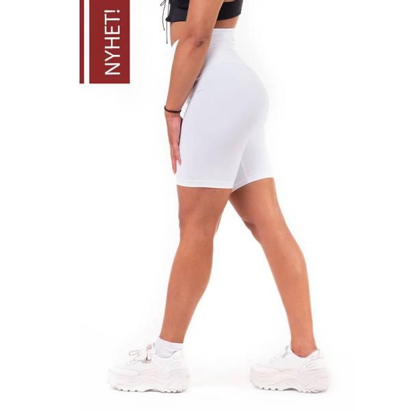 Bilde av NEBBIA Road Hero High waist shorts hvit 683