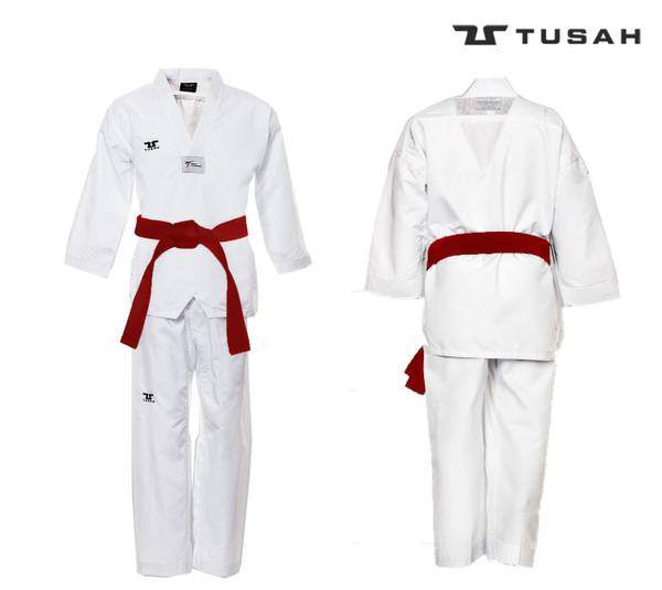 Bilde av TUSAH EZ-Fit WT-Godkjent TKD Uniform - Hvit