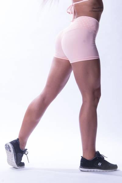 Bilde av NEBBIA NS High waist shorts Rosa 648
