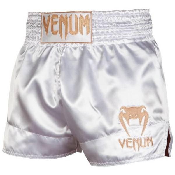 Bilde av VENUM Classic Muay Thai shorts - Hvit