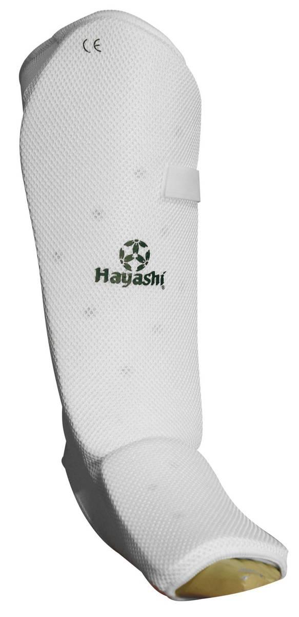 HAYASHI Legg og Vristbeskytter - Hvit
