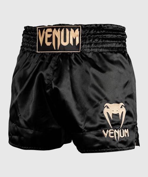 Bilde av VENUM Classic Muay Thai shorts - Svart/Gull