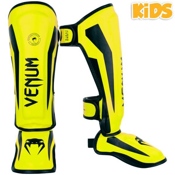 Bilde av VENUM Elite Legg og Vristbeskytter for barn - Gul